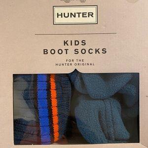 NIB Hunter  fleece sock boot liners